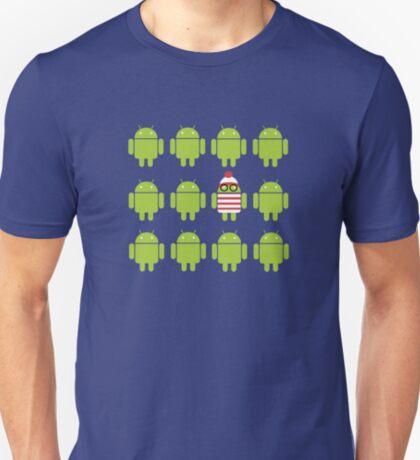 Where's Waldroid? T-Shirt