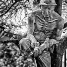 A chi di sudore e sangue la terra intrise, Piancastagnaio, Toscana, Italia by Andrew Jones