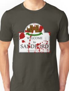Welcome to Sandford Unisex T-Shirt