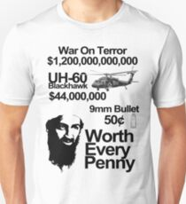 killing osama, worth every penny Unisex T-Shirt