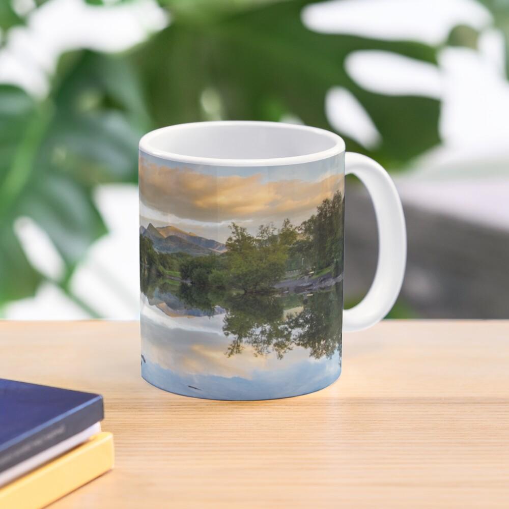 Snowdonia - Snowdon reflections on Llyn Padarn Mug