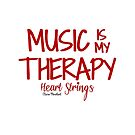 'Music is my therapy' quote by sailorclaire