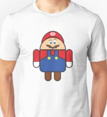 Super Droid Bros. Mario Unisex T-Shirt