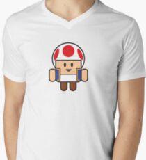 Super Droid Bros. Toad Men's V-Neck T-Shirt