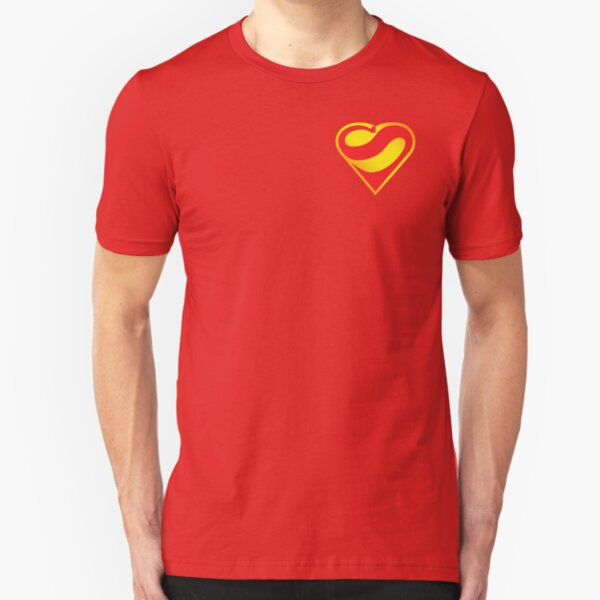 Heart of a Superhero Slim Fit T-Shirt