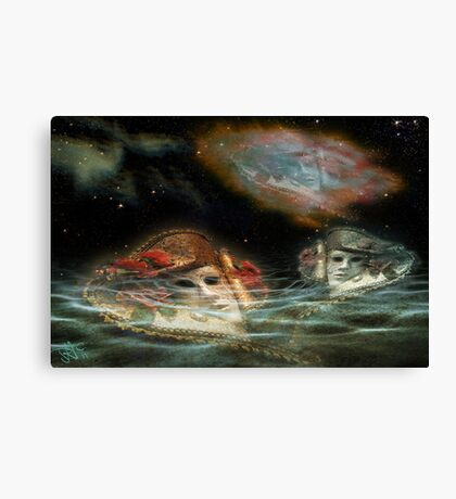 Mask Nebulae Dream Canvas Print