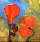 Apple Pie Ridge Poppies by Barbara Sparhawk