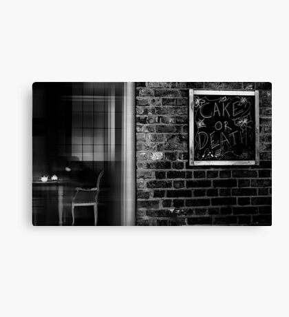 the white teapot Canvas Print