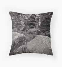 Elemental temples Throw Pillow