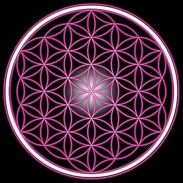 The Pink Flower of Life  by Dee-Vigga
