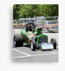 Summit Series Green; Fomoso Raceway USA Canvas Print