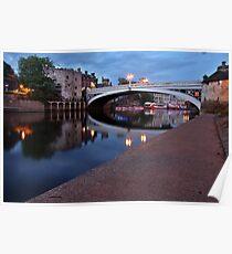Lendal Bridge After Sunset Poster