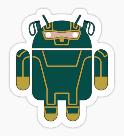 Kick-Assdroid (no text) Sticker