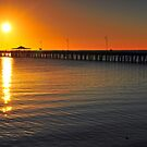 Shorncliffe Jetty at sunrise. Brisbane, Queensland, Australia. (2) by Ralph de Zilva