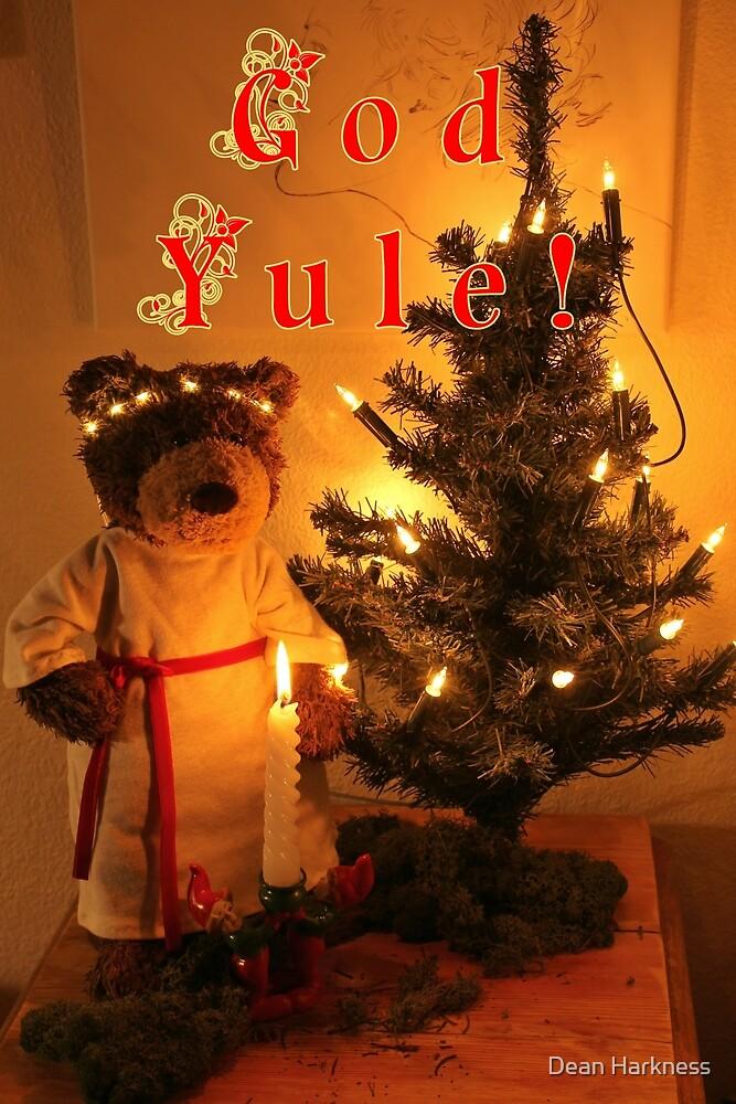 God Yule Teddy Bear St. Lucia by Dean Harkness
