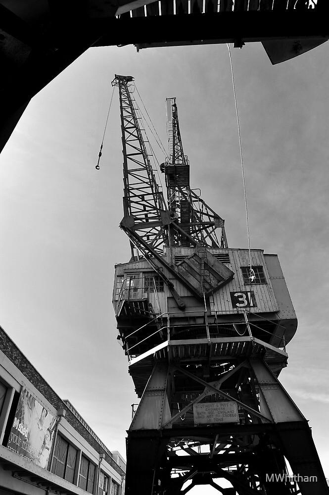Cranes, Bristol Docks by MWhitham