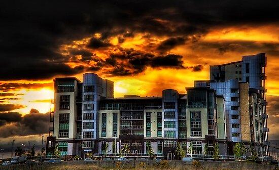 Sunset Storm by Don Alexander Lumsden (Echo7)