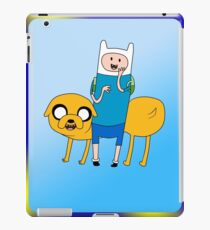Finn and Jake Adventure time! iPad Case/Skin