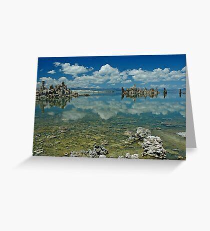 Mono Lake Landscape Greeting Card