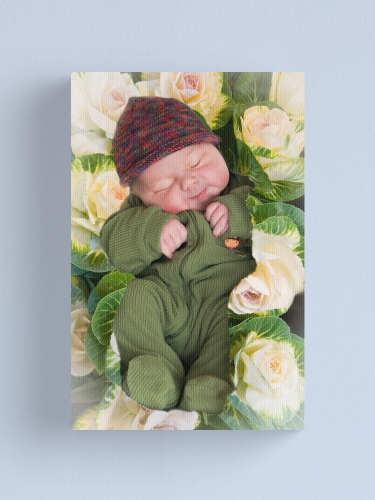 Alternate view of Little Sprout Canvas Print