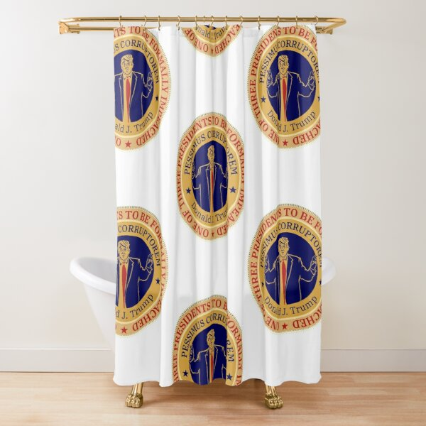 History in the Making - The Donald J. Trump Impeachment T-Shirt Shower Curtain