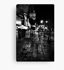 Reno Nevada at night Canvas Print