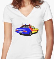 Mad Max's Interceptor Women's Fitted V-Neck T-Shirt