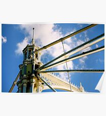 Albert Bridge - London, England Poster