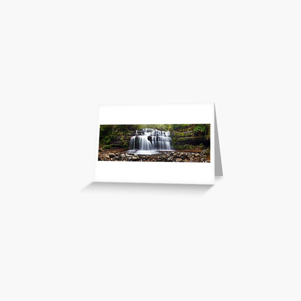 Liffey Falls, Great Western Tiers, Tasmania Greeting Card