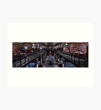 Mortlock Library Panorama Art Print