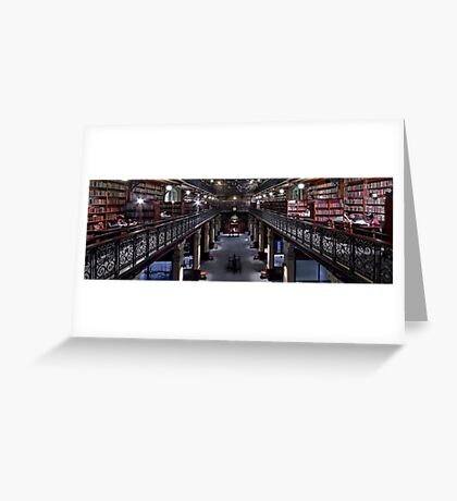Mortlock Library Panorama Greeting Card