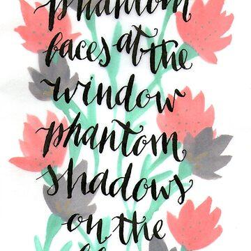 Phantom shadows on the floor by Eli-theBromercy