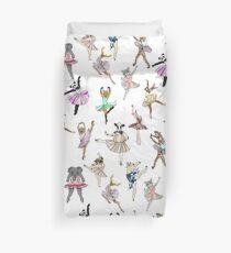 Animal Ballerinas Duvet Cover