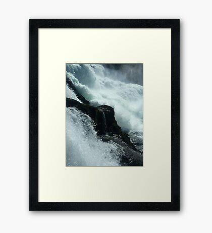 Crash Framed Print
