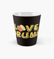 savvy Turtle Love Drums Tall Mug