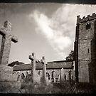 Chagford Church by Catherine Hadler