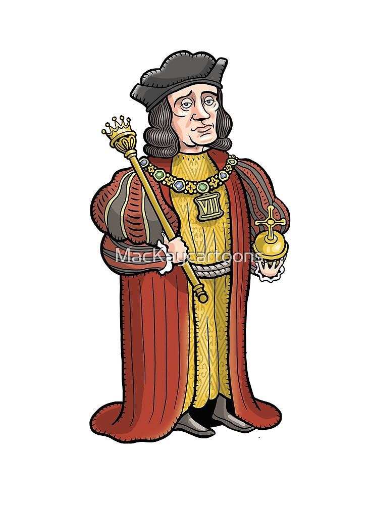 Henry VII by MacKaycartoons