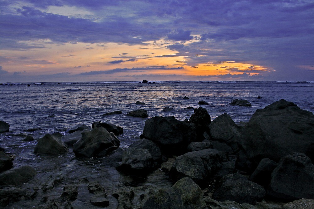 Pacific Sunset by Ciaran Sidwell
