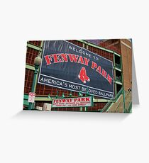 Fenway Pahk! Greeting Card