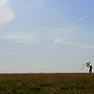 Up, Up and Away - Kite Flying by Alissa Slagle