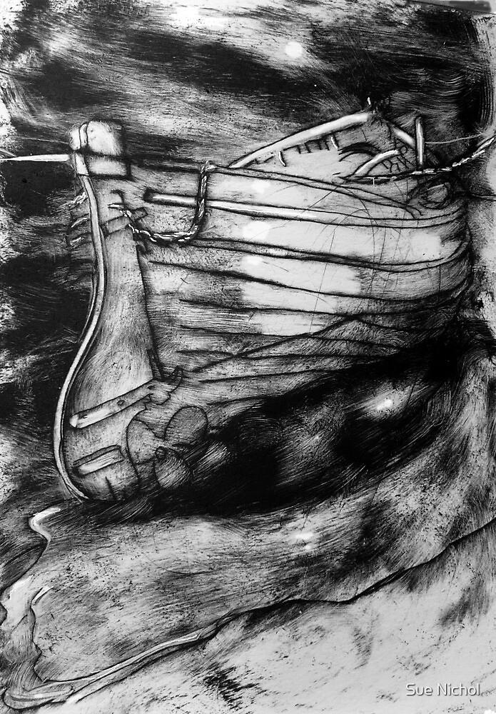 Mizpah Etching by Sue Nichol