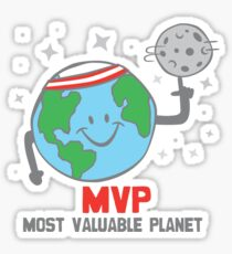 MVP Most Valuable Planet Sticker