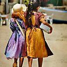 Best Friends - Guayabitos, Mexico by Lynnette Peizer