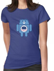 GRUMPYDROID Womens Fitted T-Shirt
