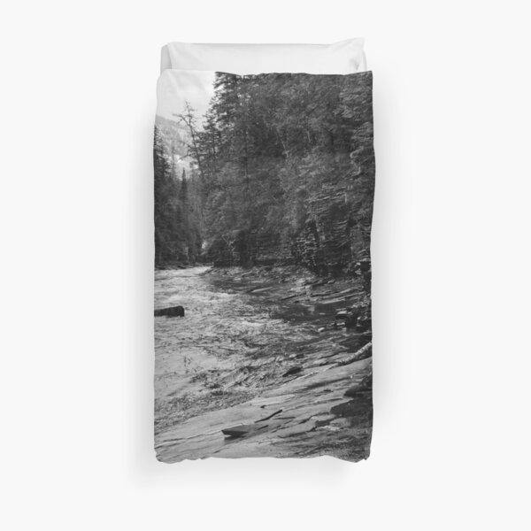 McDonald Creek, Glacier N.P.   Duvet Cover