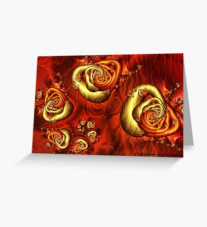 Journey to the Center Greeting Card