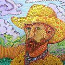 338 - BRICK VAN GOGH - DAVE EDWARDS - COLOURED PENCILS - 2011 by BLYTHART