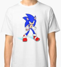 Sonic : Super Fast Pokemon Trainer Classic T-Shirt