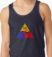 10th Armored 'Tiger' Division (United States Army - Historical) Tank Top