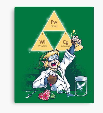 Hyrulean Science Canvas Print